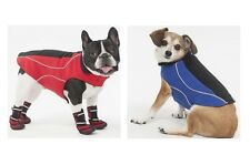 Fleece Jacket for Dogs - XS - XL - Red or Blue - Wind & Insulates for Warmth