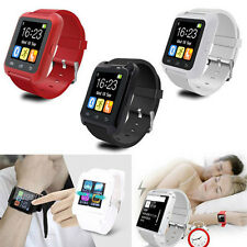 U80 Bluetooth Sport Smart Wrist Watch For iOS iPhone Android Samsung Smart Phone