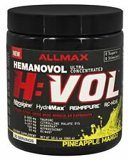 ALLMAX NUTRITION HVOL HUMANAVOL ULTRA CONCENTRATED CHOOSE FLAVOR!