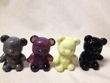 BOYD GLASS FUZZY TEDDY BEAR-CHOICE OF COLORS    PRICE & SHIPPING REDUCED