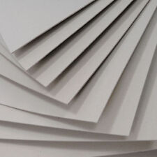 10 X Greyboard Thick Card 1500 microns 1.5mm grey board backing modelling