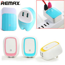 REMAX AC 100-240V 2.4A Dual USB Ports AU Plug Charger Adapter for iPhone iPad