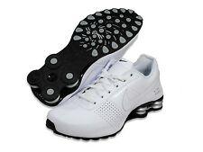 Nike Shox Deliver Mens size Running Shoes White Silver Sneakers 317547 109
