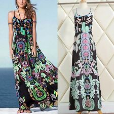 Boho Maxi Dress Women Dress Summer Floral Dress Beach Dress Bohemian Sundress