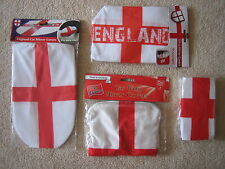 England Van or Car Wing Mirror Covers St George Cross English Football