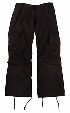 3986 Rothco Women's Vintage Paratrooper Fatigue Pants - Black