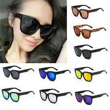 9 Color Cat Eye Retro Vintage Big Frame Street Snap Women Men Sunglasses Eyewear