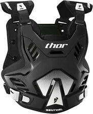 THOR SENTINEL GP CHEST PROTECTOR BLACK BODY ARMOUR ADULT CHEAP NEW MOTOCROSS MX