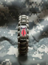 U.S. Army Special Operations Command AIRBORNE 550lb Paracord Bracelet USASOC