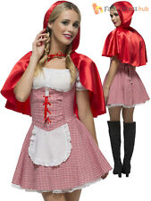 Ladies Fever Red Riding Hood Costume Adult Sexy Book Week Fancy Dress Fairy Tale
