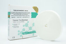 Toe finger TUBULAR BANDAGE as used by Chiropodists Podiatrists for dressings
