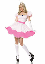 Leg Avenue Womens Sexy Pink Princess Toadstool Halloween Roleplay  Costume