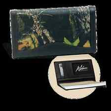 Weber's Camo Leather Checkbook Cover, 3 Camo Choices, 7 Storage Pockets, Durable