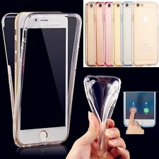 Soft TPU 360° Full Body Protective Clear Crystal Case Cover For iPhone 6 6s Plus