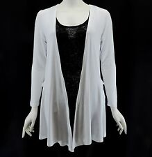 NEW PIKO White JY19 Cardigan Blazer Top Authentic Long Sleeves Size S-M-L
