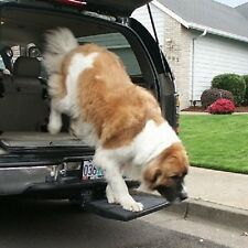 Otto Step for traveling with your dog in a Truck or SUV  and NO LIFTING