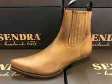 Sendra Boots Style 1692 Brown Leather Western Cowboy Boots