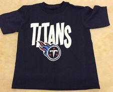 NFL Team Apparel Toddler, Tennessee Titans Logo T-Shirt, Sizes 2T - 4T