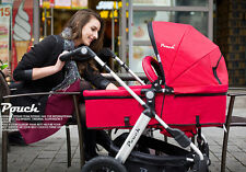2 IN 1 BABY PRAM STROLLER ALUMINIUM JOGGER WITH BASSINET 5 COLORS