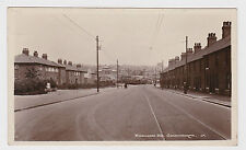 SUPER OLD CARD OF FURLONG ROAD GOLDTHORPE ROTHERHAM AROUND 1910