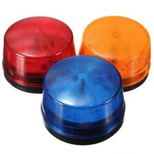 12V Round Alarm Strobe Signal Security Caution Flash Warning LED Light