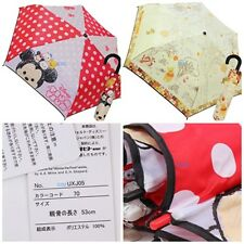 JAPAN DISNEY WINNIE THE POOH TSUM TSUM UV COATING 3 FOLD UMBRELLA W/ BAG