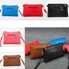 Ladies PU Leather Shoulder Bag Satchel Clutch Handbag Tote Purse Hobo Messenger