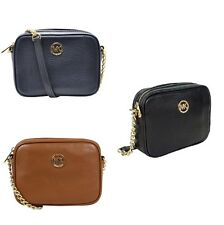 New Michael Kors Fulton Small Crossbody Leather Bag In Pebbled Leather NWT