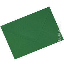 50 x A6.C6 Bottle Green 100gsm Envelopes 114 x 162mm - 4.48 x 6.37 inches