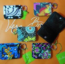 NWT! VERA BRADLEY Flip Open ID Credit Card Holder Campus Double ID Case Wallet