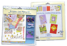 Various Mini Scrapbook Kits - Wedding/Xmas/Baby Girl & Boy Or Birthday Card Kit