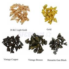 16mm Filigree Hollow Cone Flower Beads Cap Jewelry Makings Pack of 50