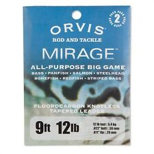 Orvis Mirage Big Game Fly Fishing Leader - 2 Pack