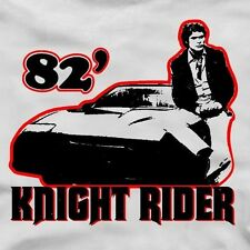 82' KNIGHT RIDER T-Shirt -Fun kitt david hasselhoff trans am tshirt 80s TV show