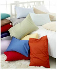 100% EGYPTIAN COTTON 500TC PILLOW CASES / SHAMS - CHOOSE COLOR SIZE KING QUEEN