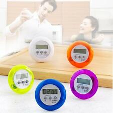 Mini Magnetic Round LCD Digital Cooking Kitchen Gadget Count down Alarm Timer MT
