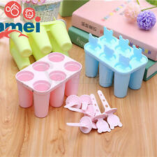Hot Bear Popsicle Stick ice Lolly Mold Ice Pop Maker Ice Cream Mold Pink/Blue/