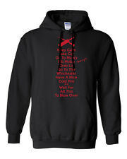 Keep Calm Inspired by Shaun of the Dead - NEW Funny Hoodie - Black