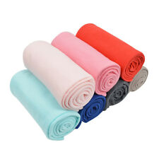 30 x 40 Inch Solid Color Soft Fleece Baby Blanket - Different Colors Available