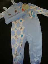"""NICKELODEON """"PETER RABBIT""""  NWT 2 pc ROMPER &  HAT NWTS"""