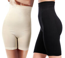 High Waisted Brief Body Shaper Slimming Tummy Firm Control Thigh Panty