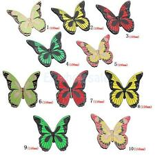 Butterfly Closet Cupboard Drawer Cabinet Door Handle Knob Pull Hardware 5 Color