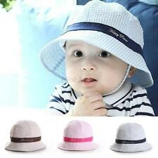 Toddler Baby Summer Outdoor Basin Cap Kids Girl Boy Sun Beach Bucket Hat  6-24M