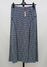 M&S Per Una Size 8 Panelled Lined Long Pull On Maxi Skirt Bnwt 35L Free Postage