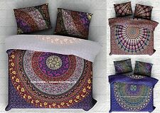 Indian Mandala Duvet Doona Cover Ethnic Comforter Bedding Set Twin Quilt Blanket