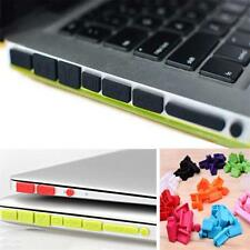 Silicone Rubber Anti-Dust Plug Cover Stopper for MacBook Air Retina 11 13 Ports9