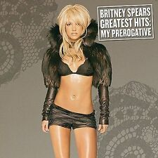 Britney Spears SEALED CD Greatest Hits: My Prerogative