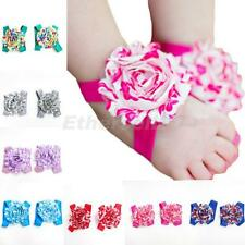 Baby Kids Toddler Infant Flower Barefoot Socks Shoes Sandals Blooms