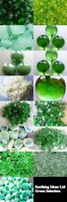 Green Glass Pebbles Quartz Chippings Marbles Mirror Various Weights Home Garden