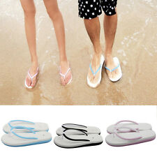 Unisex Summer Soft Flat Beach Sandal Casual  Thong Sandals Slippers Flip Flop